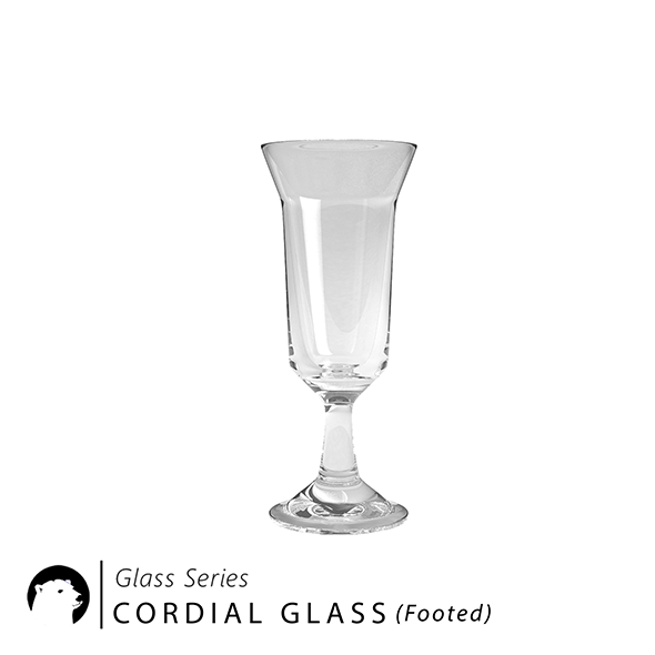 3DOcean Glass Series Cordial Glass Footed 20957770
