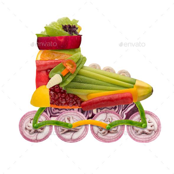 Veggie roller. - Stock Photo - Images