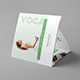 Brochure – Yoga Tri-Fold Square - GraphicRiver Item for Sale