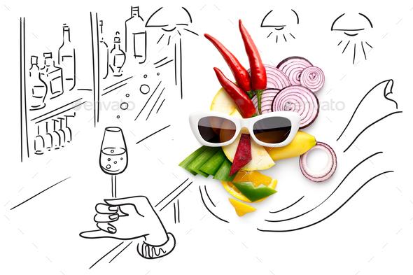 Tasty art. - Stock Photo - Images