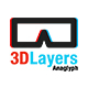 3DLayers - Anaglyph - GraphicRiver Item for Sale