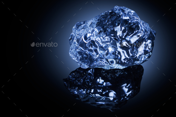 Ice cold beauty. - Stock Photo - Images