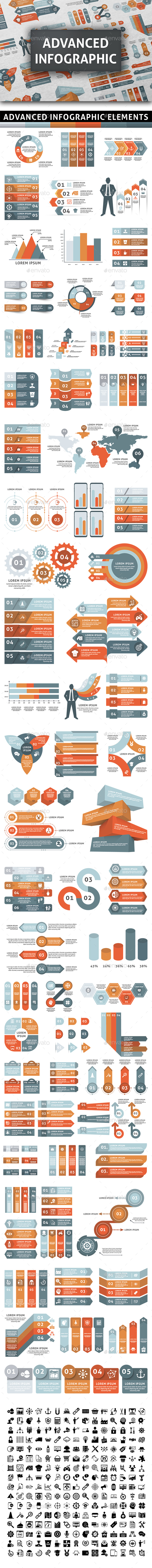 GraphicRiver Advanced Infographic Elements 20958040