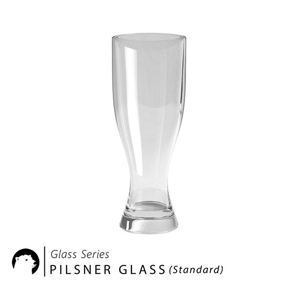 3DOcean Glass Series Pilsner Glass Standard 20958288