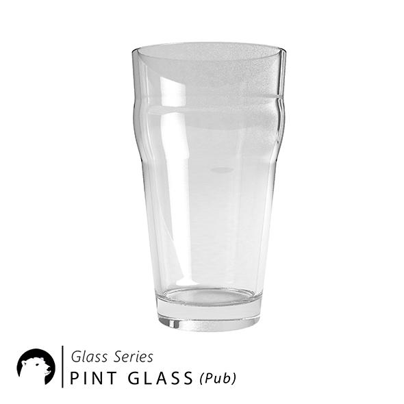 3DOcean Glass Series Pint Glass Pub 20958332