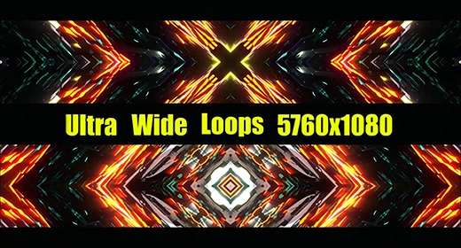 Ultra Wide VJ Loops
