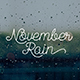 November Rain - GraphicRiver Item for Sale
