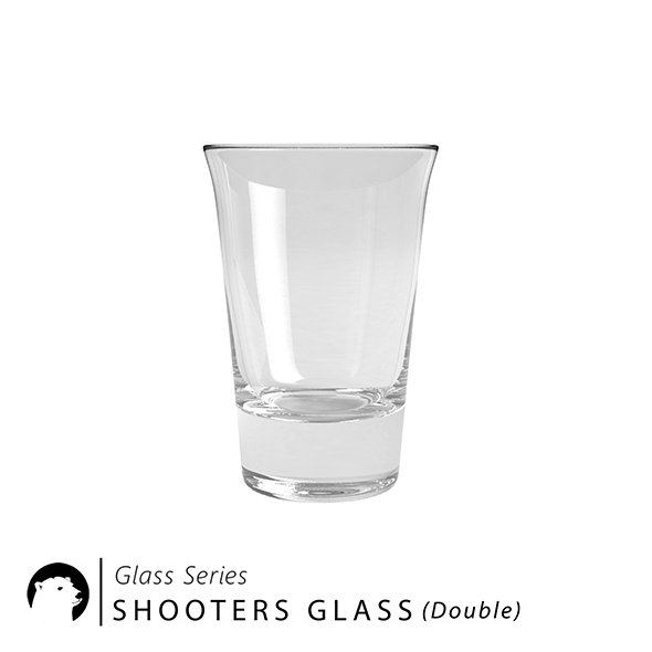 3DOcean Glass Series Shooters Glass double 20958409