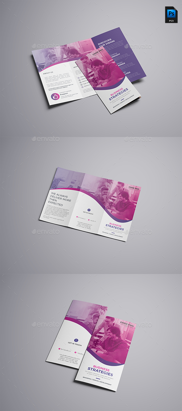 GraphicRiver Trifold Brochure 20958830