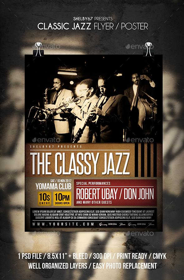GraphicRiver Classic Jazz 20958852