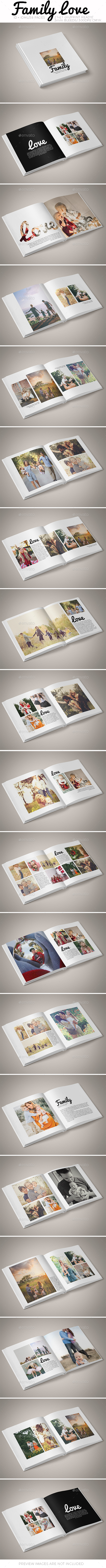 GraphicRiver Family Love Photo Album 20959495