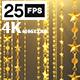 Golden Star 03 4K - VideoHive Item for Sale