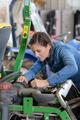 girl mechanic in the garage - PhotoDune Item for Sale