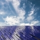 Solar Panels on the Beautiful Cloudy Sky - VideoHive Item for Sale