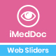 iMedDoc: Eye Treatment Center Web Sliders - GraphicRiver Item for Sale