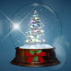 Christmas Globe Backgrounds - VideoHive Item for Sale