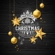 Merry Christmas Illustration on Vintage Background - GraphicRiver Item for Sale