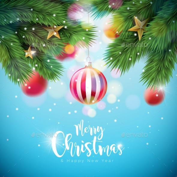 GraphicRiver Vector Merry Christmas Illustration 20960211