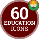 School Education Icons - VideoHive Item for Sale