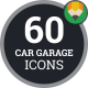 Car Garage Auto Service Icons - VideoHive Item for Sale