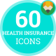 Charity Health Insurance Icons - VideoHive Item for Sale