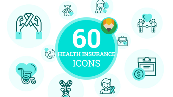 insurance after effects template  Charity Health Insurance Icons (Medical) After Effects Templates ...