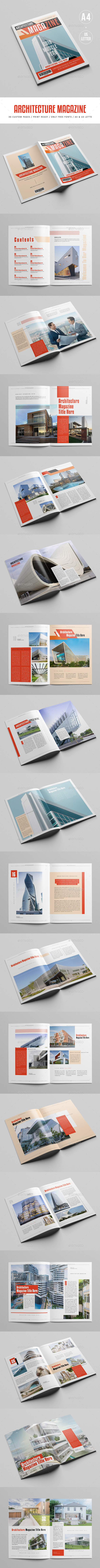 GraphicRiver Modern Architecture Magazine 20960324