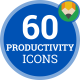 Work Productivity Icons - VideoHive Item for Sale