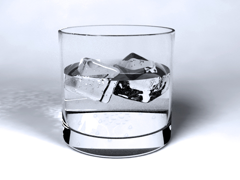 Realistic Glass of Water - 3DOcean Item for Sale