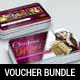 Christmas Gift Voucher Card Bundle