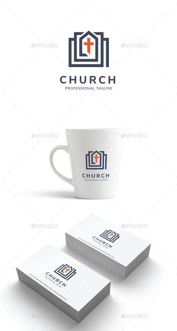 GraphicRiver Church Logo 20960491