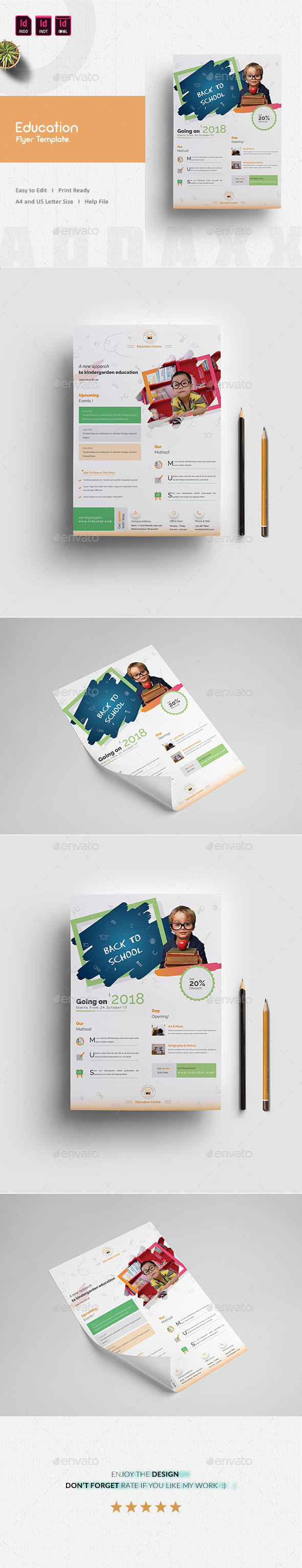 GraphicRiver Education Flyer 20960523
