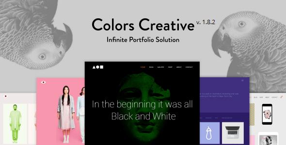 Colors Creative – Portfolio for Freelancers & Agencies - Portfolio Creative