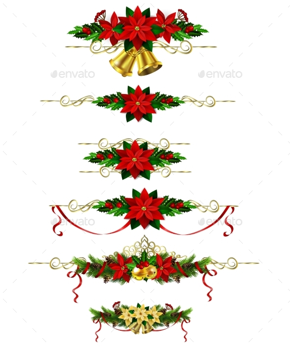 GraphicRiver Christmas Elements for Your Designs 20960562