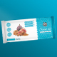 Energy Bar Label and Mockup