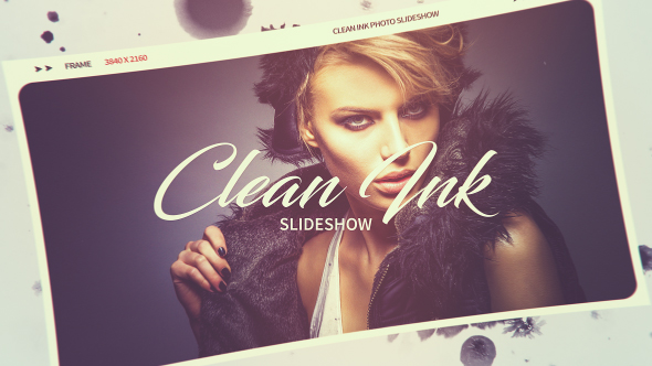 VideoHive Clean Ink Slideshow 20960610