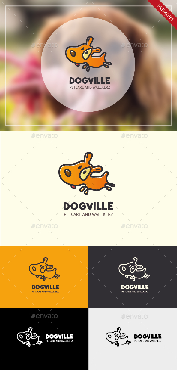 GraphicRiver Dogville Dog Logo 20960692