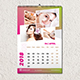 Wall Calendar 2018 Template - GraphicRiver Item for Sale