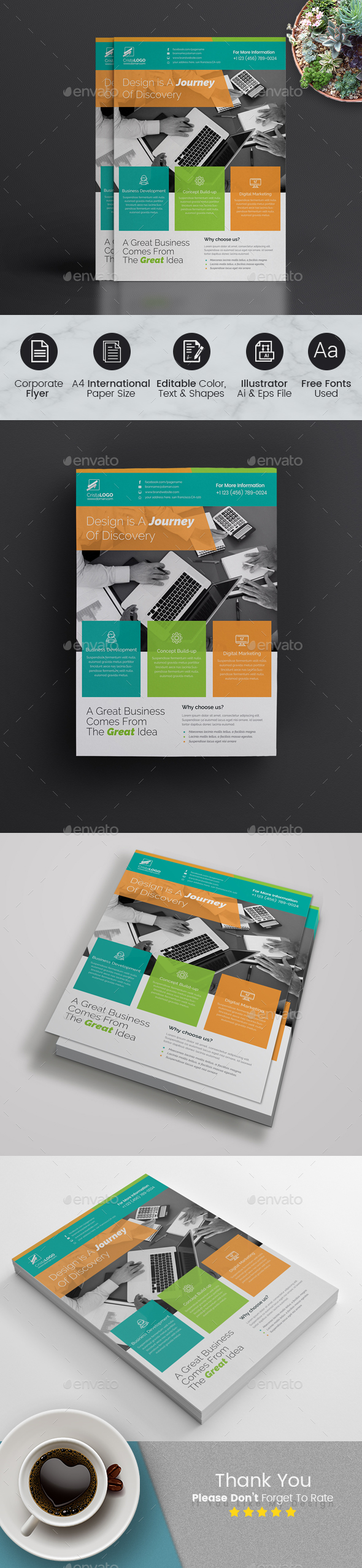 GraphicRiver Flyer Template 20960722