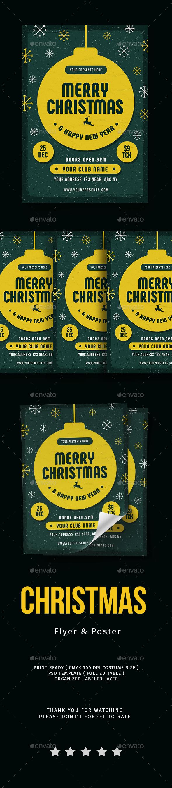 GraphicRiver Christmas Flyer Vol.4 20960748