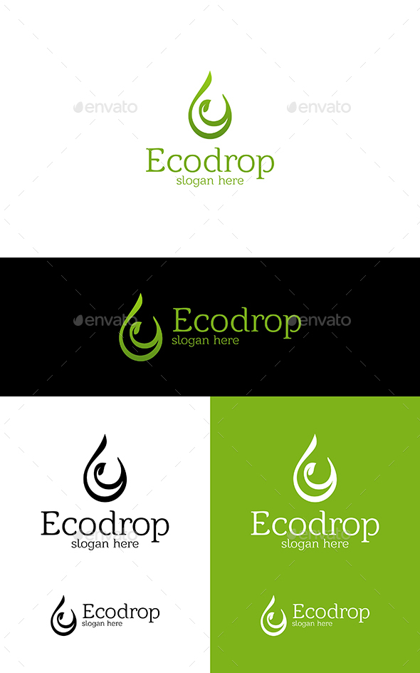 GraphicRiver Eco Drop 20961378