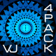 Blue Pattern VJ Pack - VideoHive Item for Sale