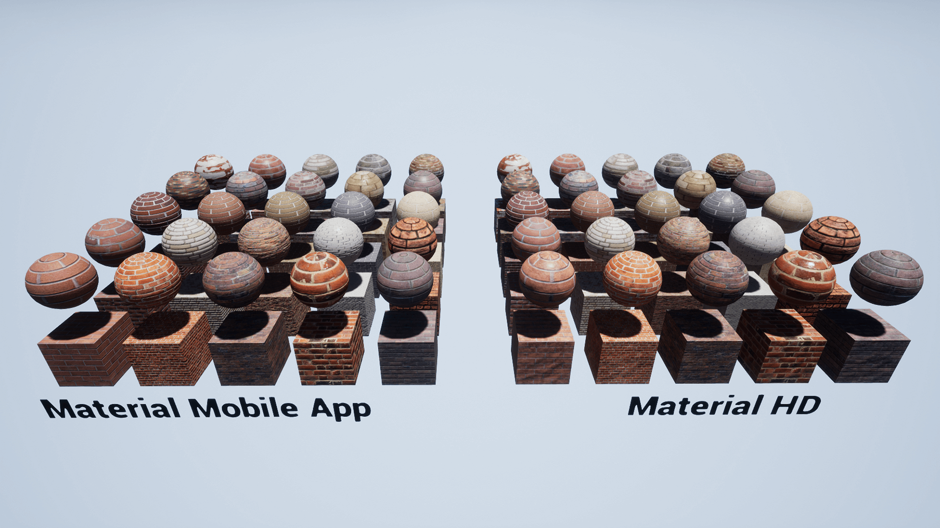 Brick Console Material Pack: 101