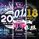 New Year Flyer and Poster Bundle