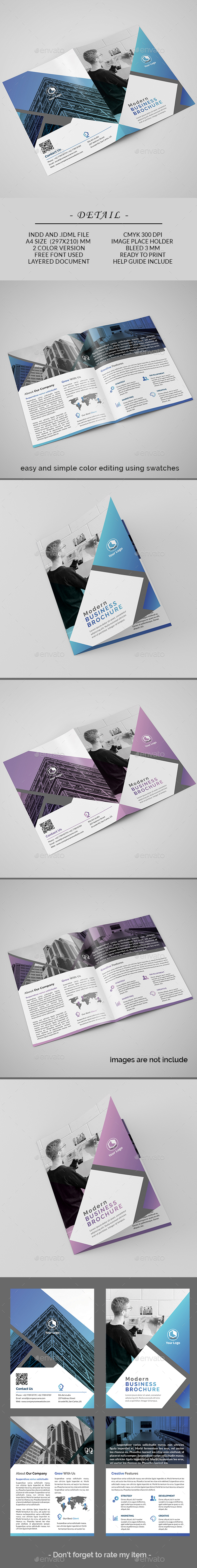 GraphicRiver Bifold Brochure 20961990
