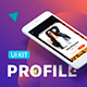 Profile Mobile UI Kit - GraphicRiver Item for Sale