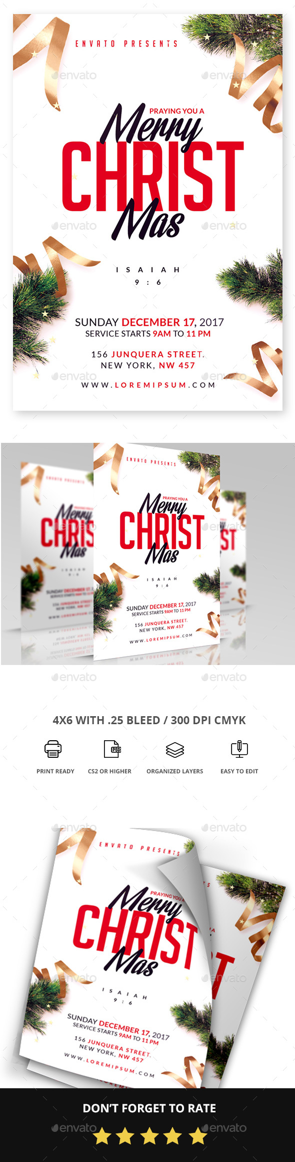 Christmas - Church Flyers