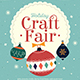 Holiday Christmas Craft Fair - GraphicRiver Item for Sale