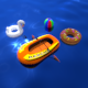 Inflatable Pool Toys - 3DOcean Item for Sale