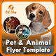 Pet Flyer | Animal Flyer Templates